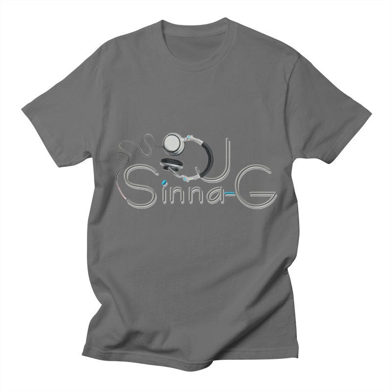 Sinna-G Logo Men's T-Shirt by DJ Sinna-G's Shop