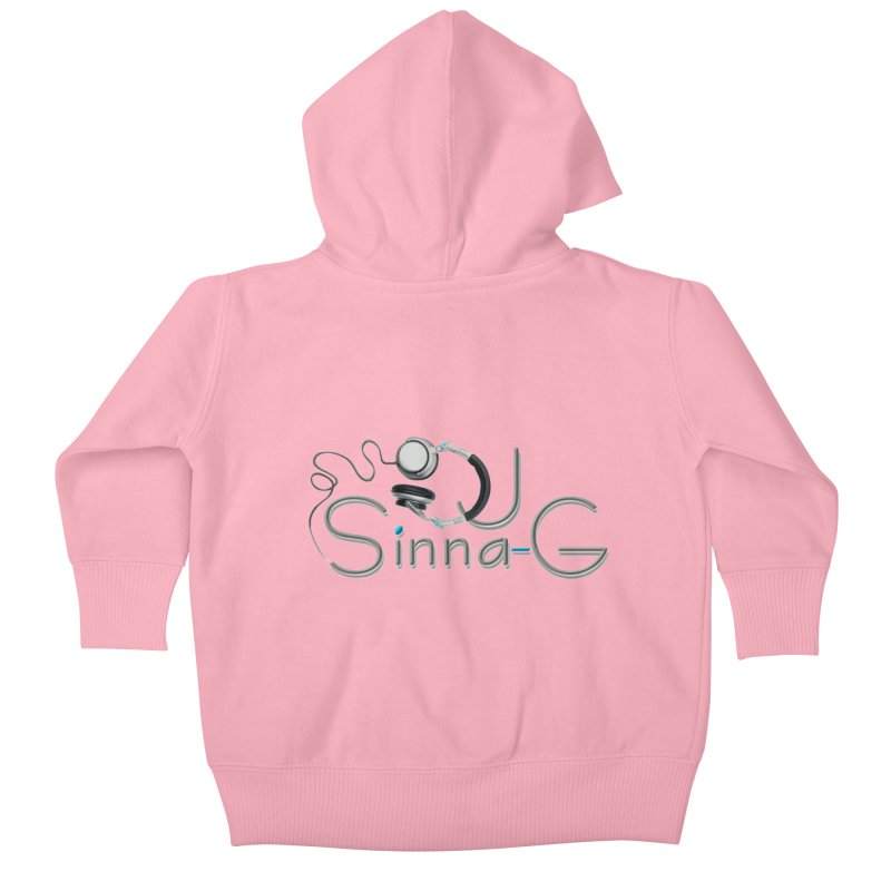 Sinna-G Logo Kids Baby Zip-Up Hoody by DJ Sinna-G's Shop