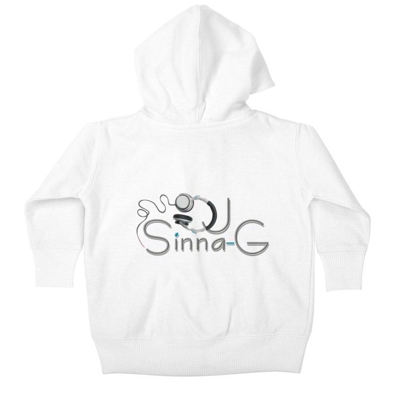 Sinna-G Logo Kids Baby Zip-Up Hoody by DJ Sinna-G's Shop