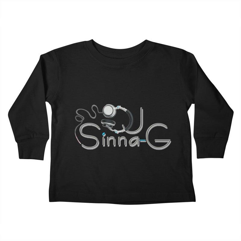 Sinna-G Logo Kids Toddler Longsleeve T-Shirt by DJ Sinna-G's Shop