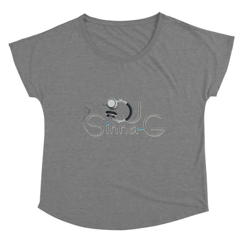 Sinna-G Logo Women's Scoop Neck by DJ Sinna-G's Shop