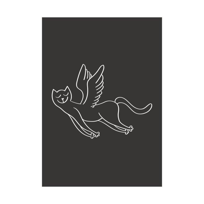 Angel Cat Men's T-Shirt by DKR Official Shop