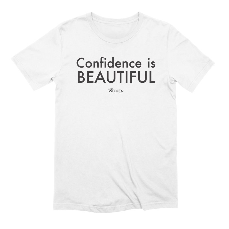 Confidence is Beautiful Men's Extra Soft T-Shirt by DMJStudio Shop