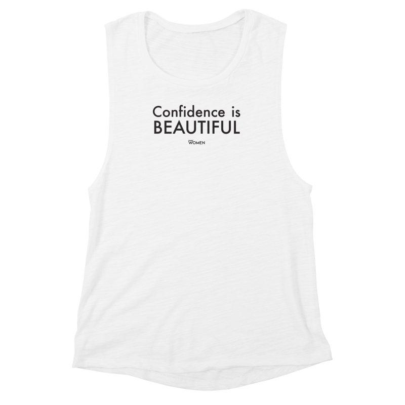 Confidence is Beautiful Women's Muscle Tank by DMJStudio Shop