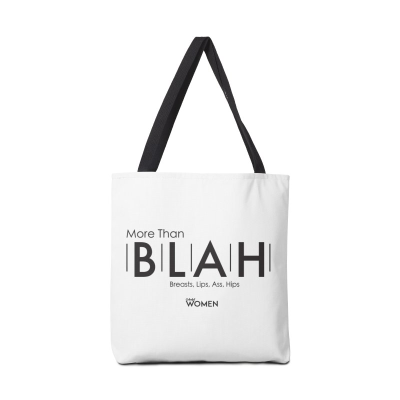 More than BLAH Accessories Tote Bag Bag by DMJStudio Shop