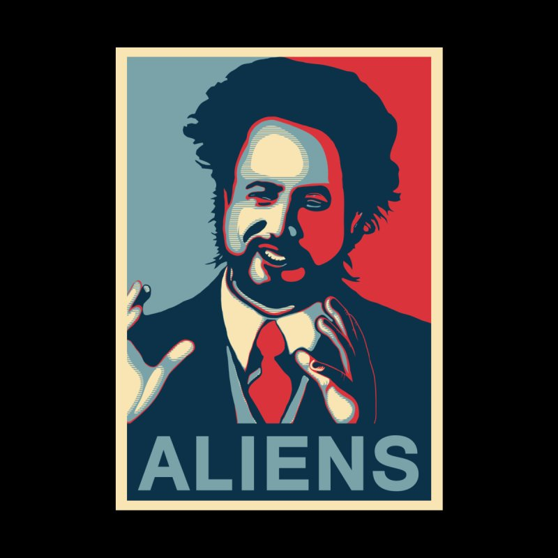 Giorgio Tsoukalos Because Aliens T shirt by Pete Styles' Artist Shop