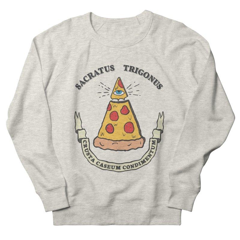 All Seeing Pie Women's Sweatshirt by Pete Styles' Artist Shop