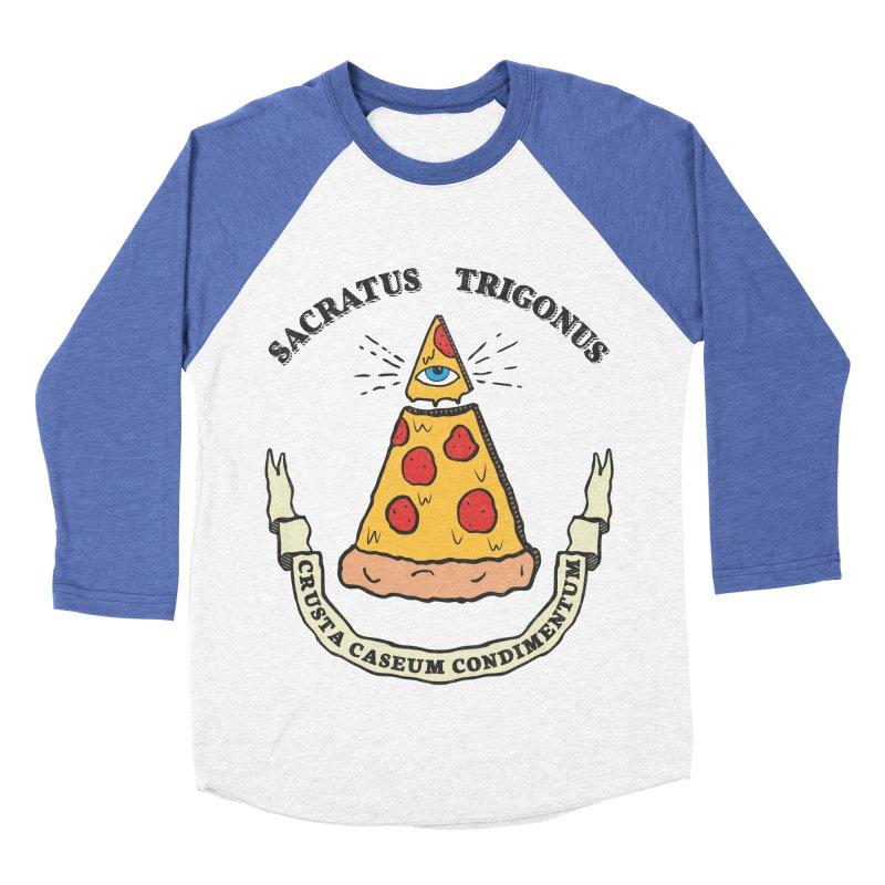 All Seeing Pie Women's Baseball Triblend T-Shirt by Pete Styles' Artist Shop