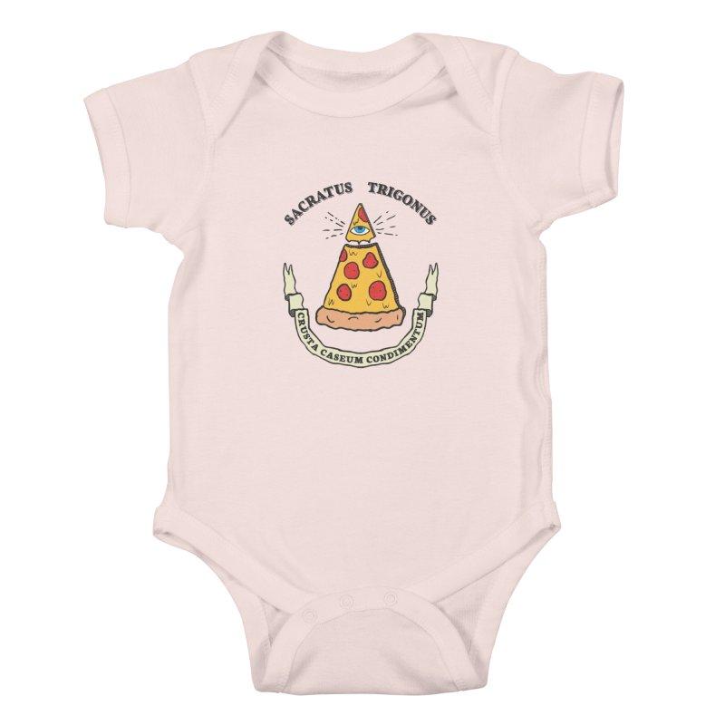 All Seeing Pie Kids Baby Bodysuit by Wasabi Snake