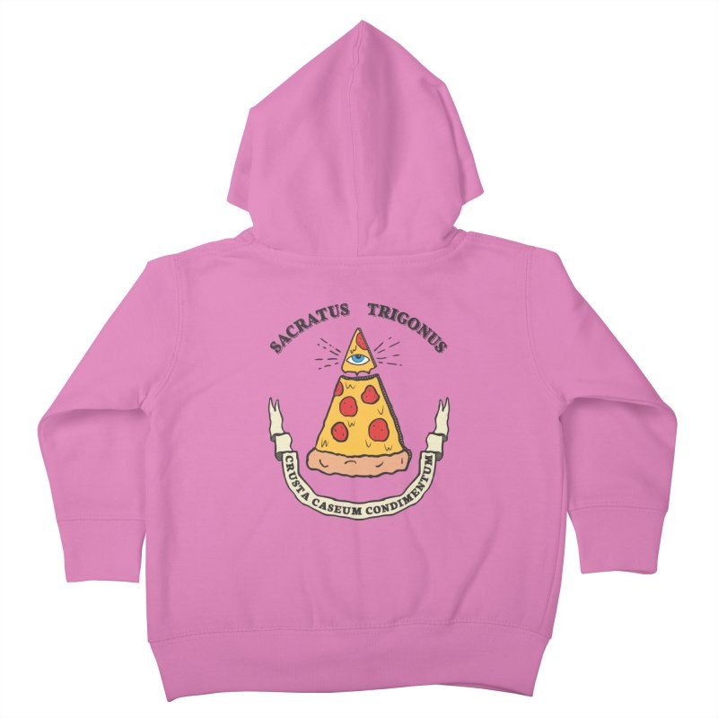All Seeing Pie Kids Toddler Zip-Up Hoody by Wasabi Snake