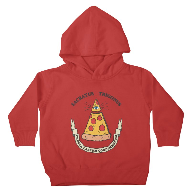 All Seeing Pie Kids Toddler Pullover Hoody by Wasabi Snake