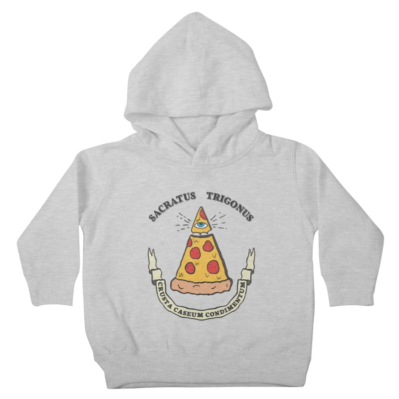 All Seeing Pie Kids Toddler Pullover Hoody by Pete Styles' Artist Shop