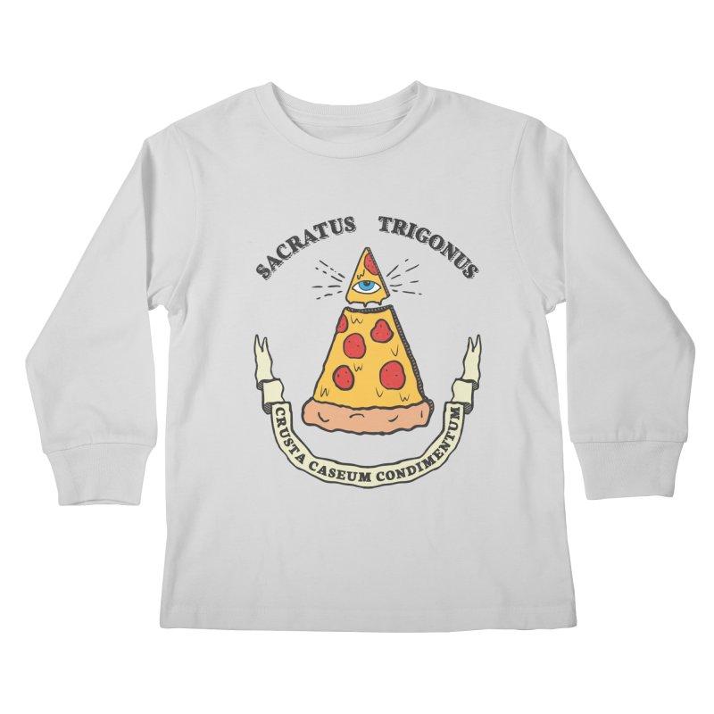 All Seeing Pie Kids Longsleeve T-Shirt by Pete Styles' Artist Shop