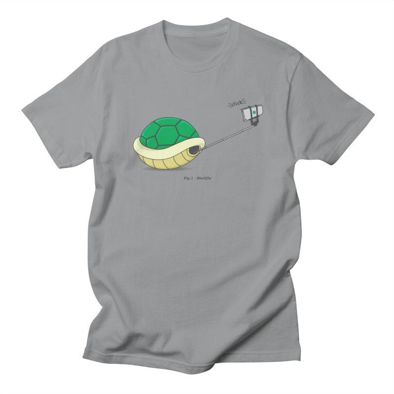 Shellfie Women's Regular Unisex T-Shirt by Wasabi Snake