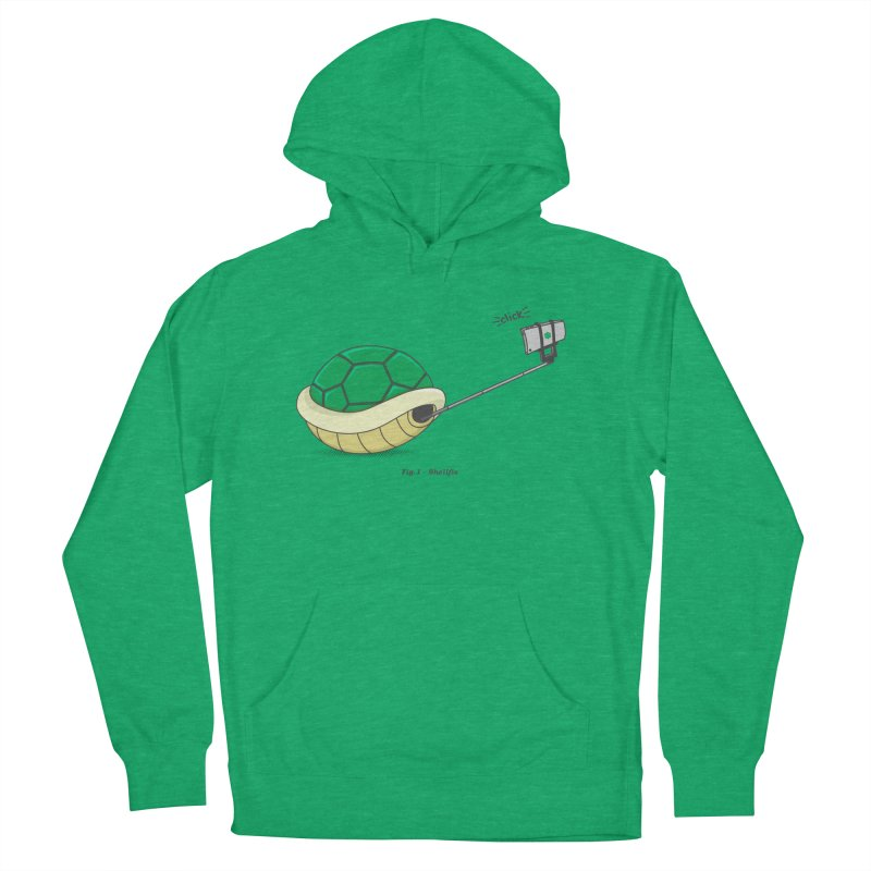 Shellfie Women's French Terry Pullover Hoody by Wasabi Snake