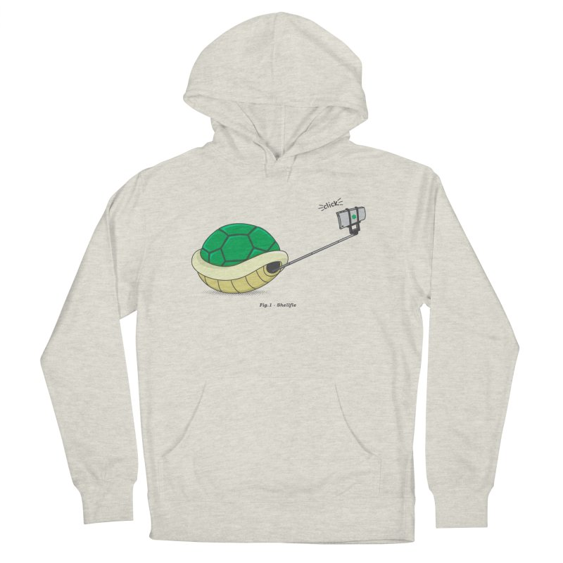 Shellfie Men's French Terry Pullover Hoody by Wasabi Snake