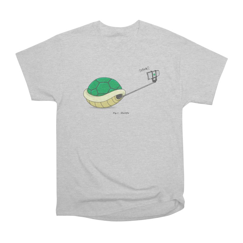 Shellfie Women's Heavyweight Unisex T-Shirt by Wasabi Snake