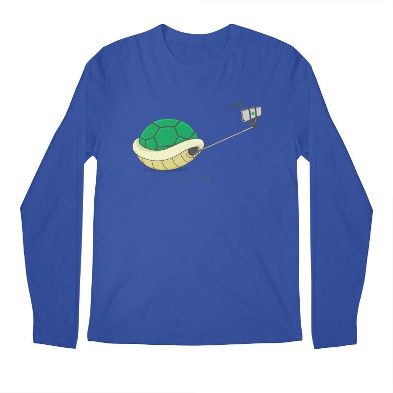 Shellfie Men's Regular Longsleeve T-Shirt by Wasabi Snake