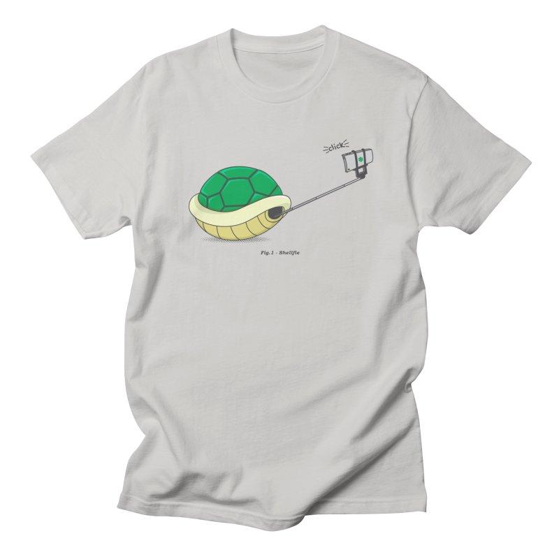 Shellfie Men's Regular T-Shirt by Wasabi Snake