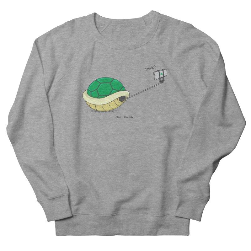 Shellfie Men's French Terry Sweatshirt by Wasabi Snake