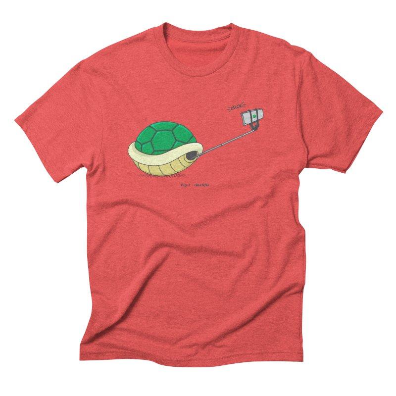 Shellfie Men's Triblend T-Shirt by Wasabi Snake