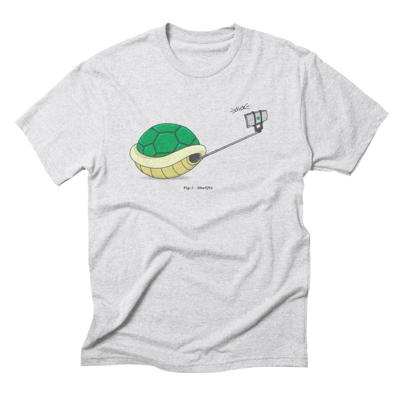 Shellfie Men's Triblend T-Shirt by Pete Styles' Artist Shop