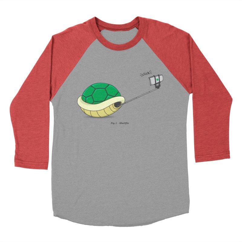 Shellfie Men's Baseball Triblend T-Shirt by Pete Styles' Artist Shop
