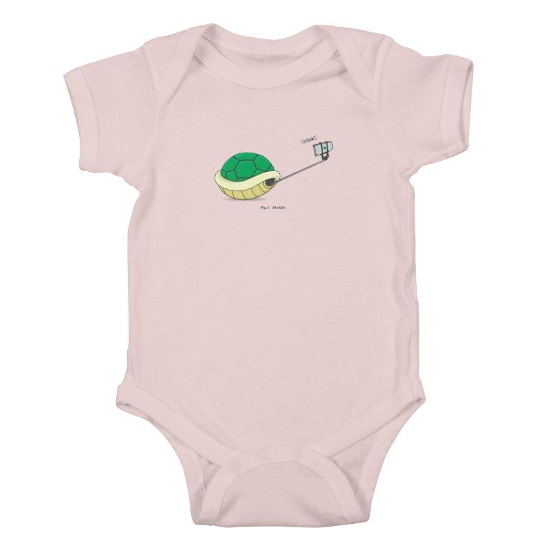 Shellfie Kids Baby Bodysuit by Wasabi Snake