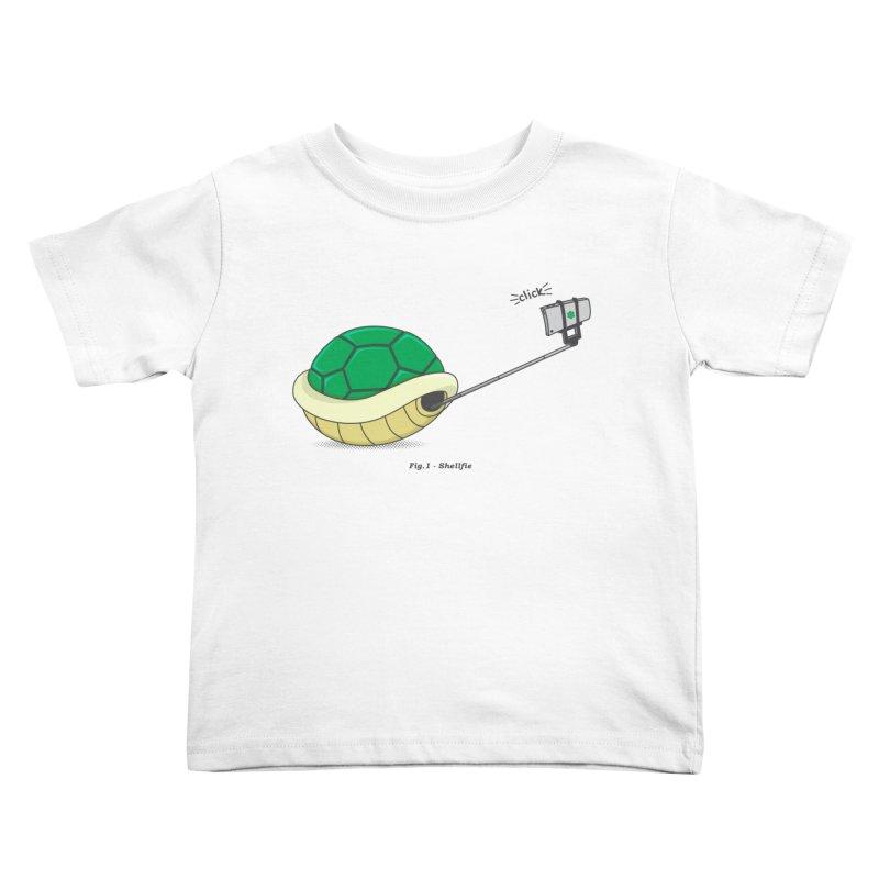Shellfie Kids Toddler T-Shirt by Wasabi Snake