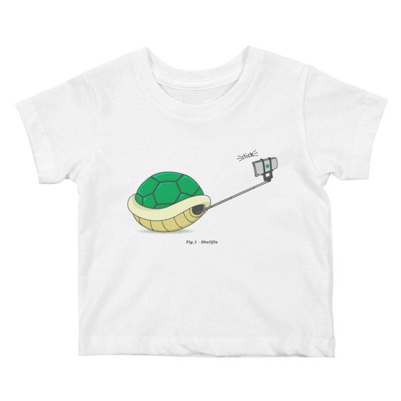 Shellfie Kids Baby T-Shirt by Wasabi Snake