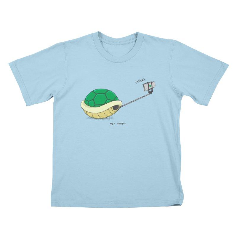 Shellfie Kids T-Shirt by Wasabi Snake