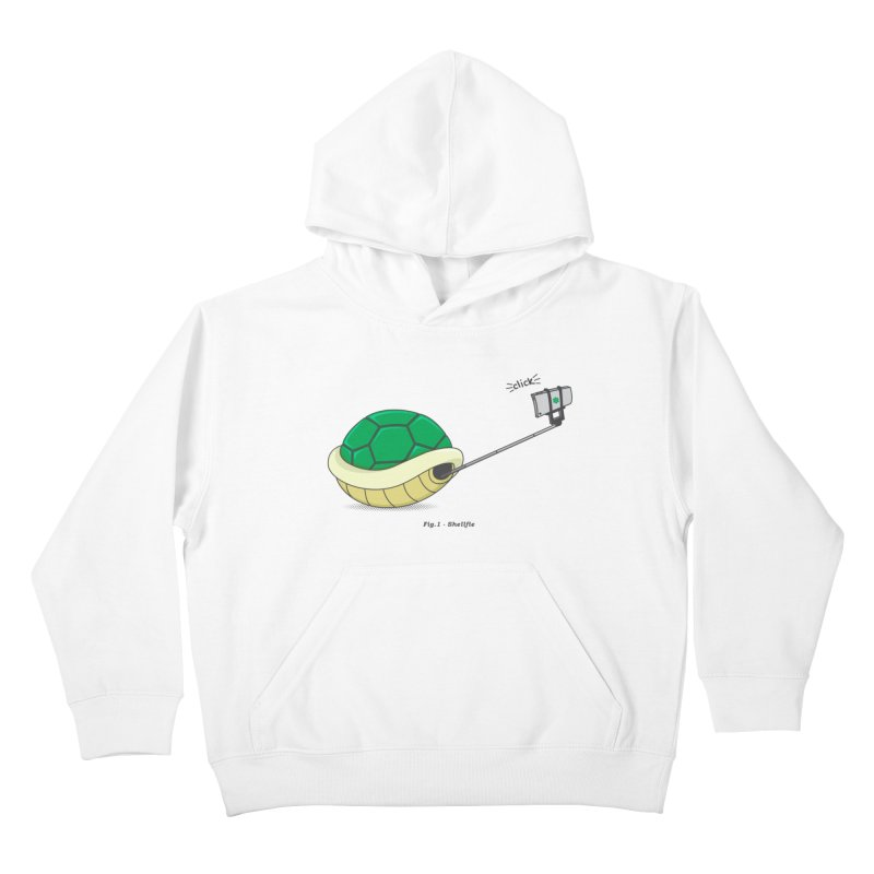 Shellfie Kids Pullover Hoody by Wasabi Snake