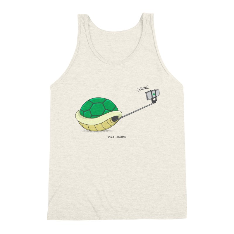 Shellfie Men's Triblend Tank by Wasabi Snake