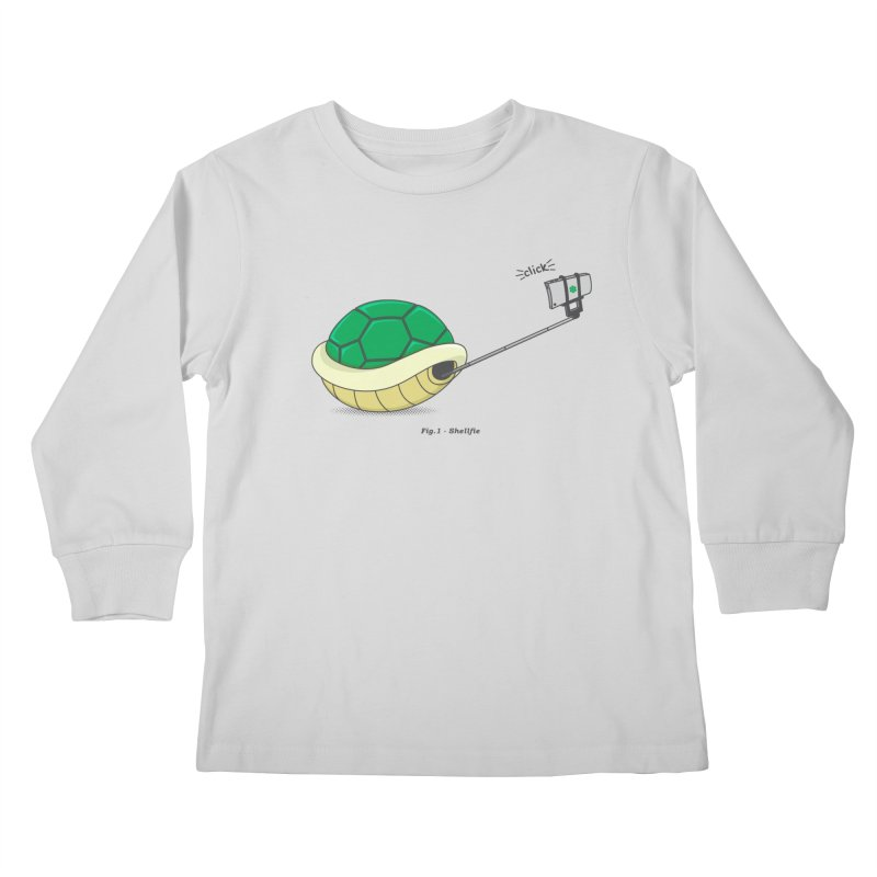 Shellfie Kids Longsleeve T-Shirt by Wasabi Snake