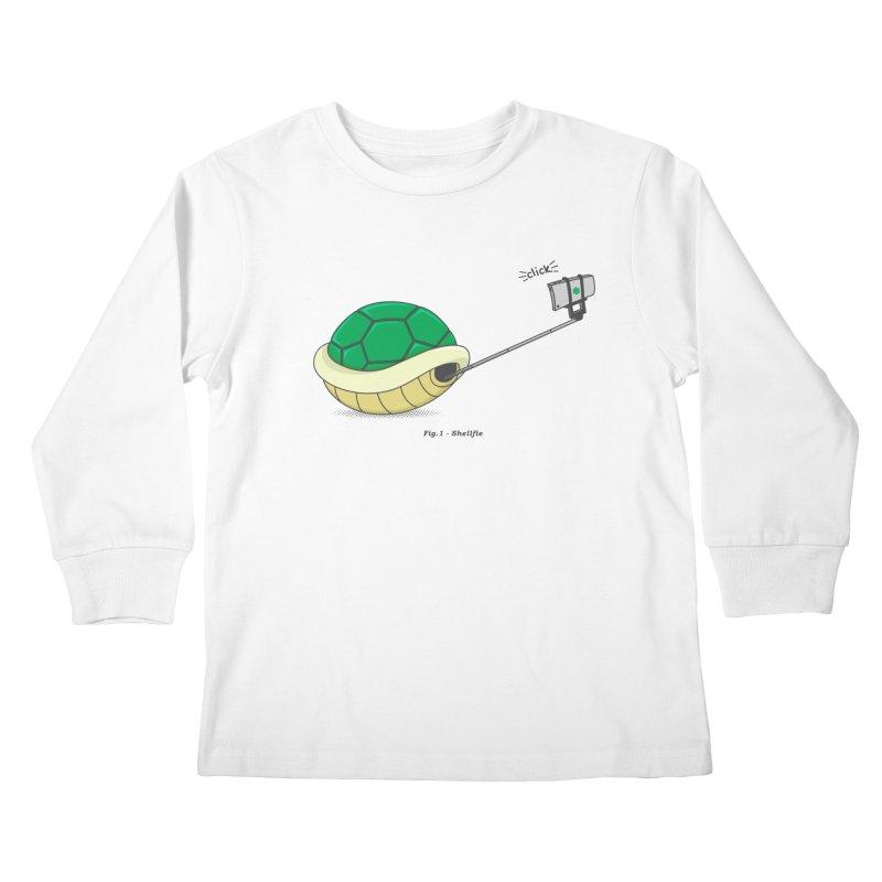 Shellfie Kids Longsleeve T-Shirt by Pete Styles' Artist Shop