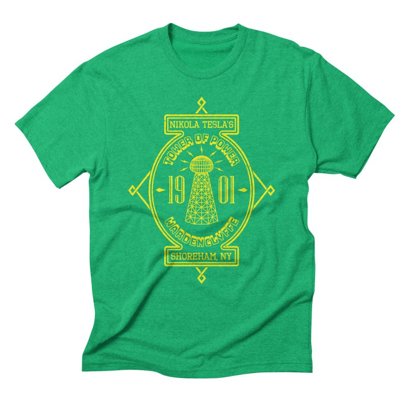 Tower Of Power Men's Triblend T-Shirt by Pete Styles' Artist Shop