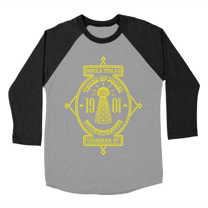 Tower Of Power Men's Baseball Triblend T-Shirt by Pete Styles' Artist Shop