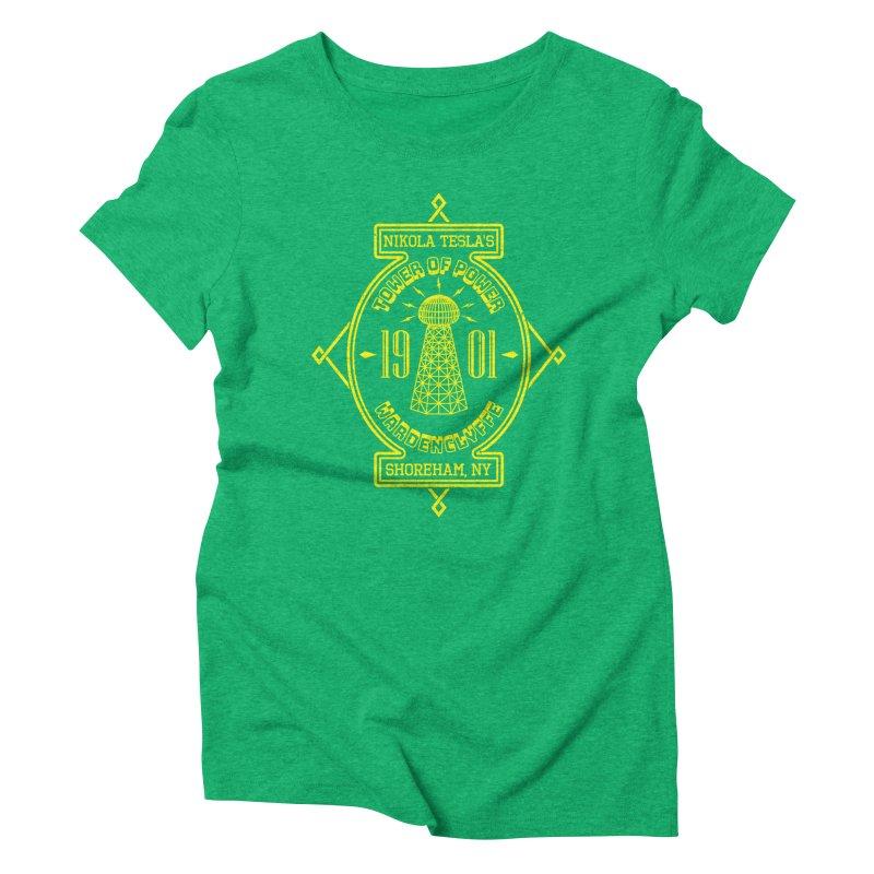 Tower Of Power Women's Triblend T-Shirt by Pete Styles' Artist Shop