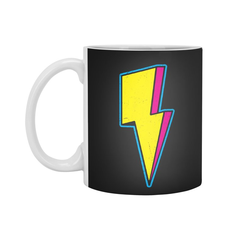 Ride The Lightning Accessories Standard Mug by Wasabi Snake