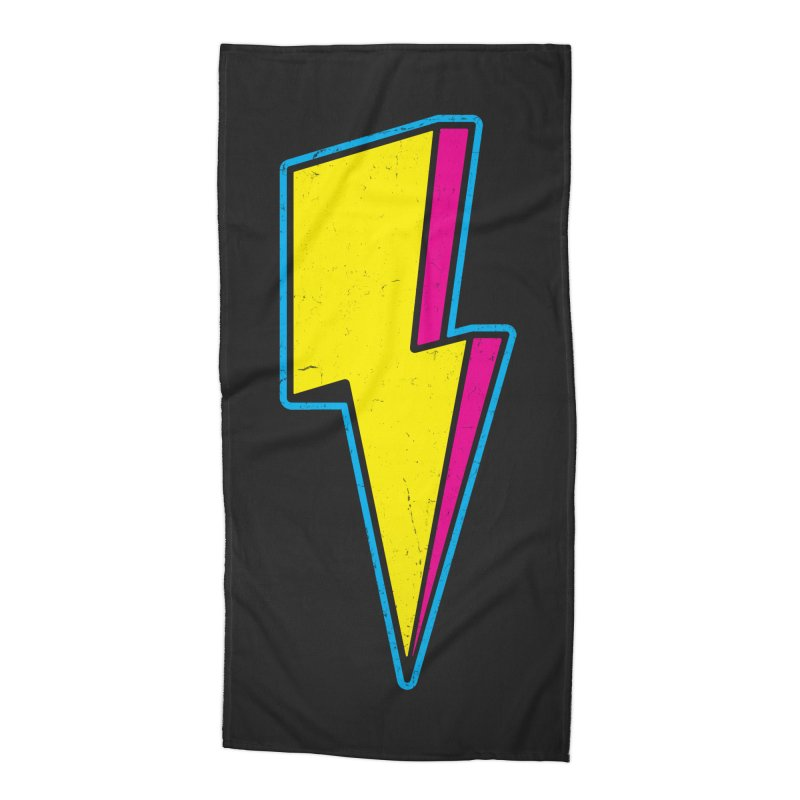 Ride The Lightning Accessories Beach Towel by Wasabi Snake