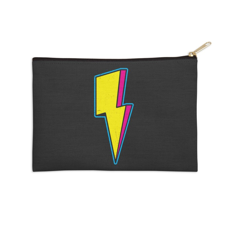 Ride The Lightning Accessories Zip Pouch by Pete Styles' Artist Shop