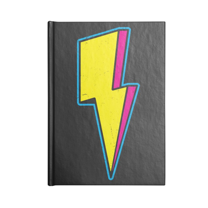Ride The Lightning Accessories Blank Journal Notebook by Wasabi Snake