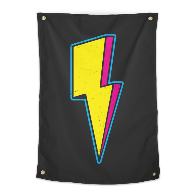 Ride The Lightning Home Tapestry by Wasabi Snake