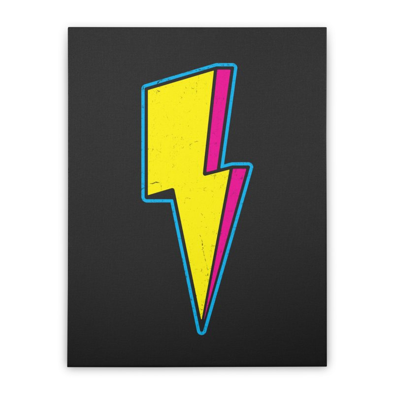 Ride The Lightning Home Stretched Canvas by Pete Styles' Artist Shop