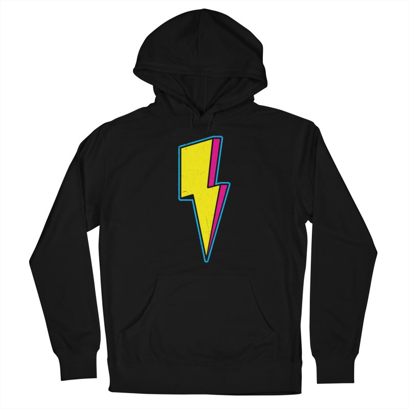 Ride The Lightning Men's Pullover Hoody by Wasabi Snake