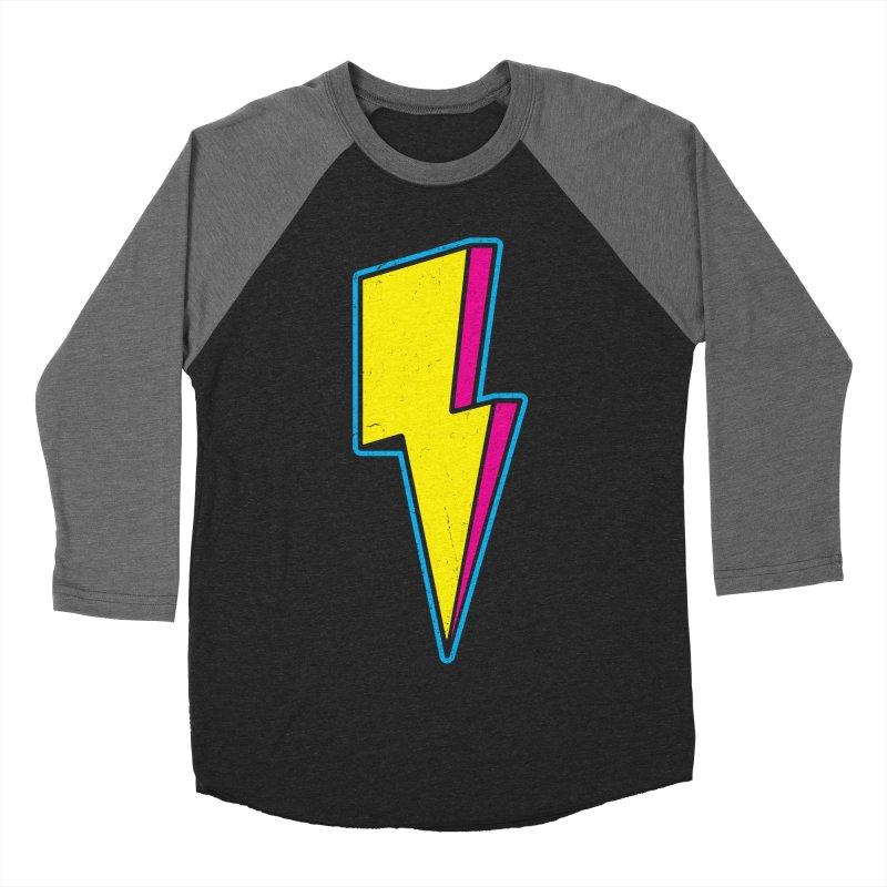 Ride The Lightning Women's Baseball Triblend T-Shirt by Pete Styles' Artist Shop