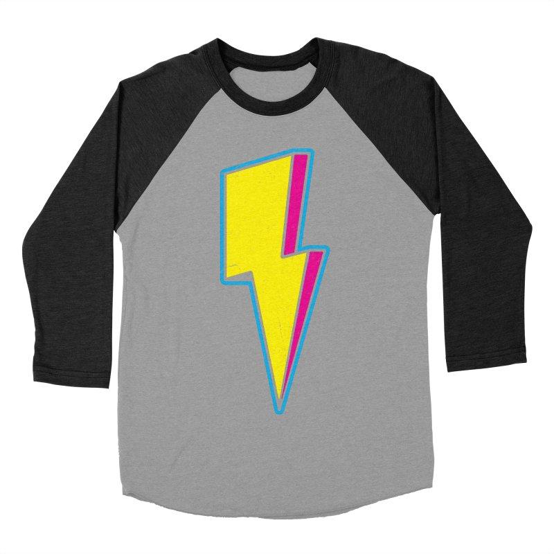Ride The Lightning Women's Baseball Triblend Longsleeve T-Shirt by Wasabi Snake