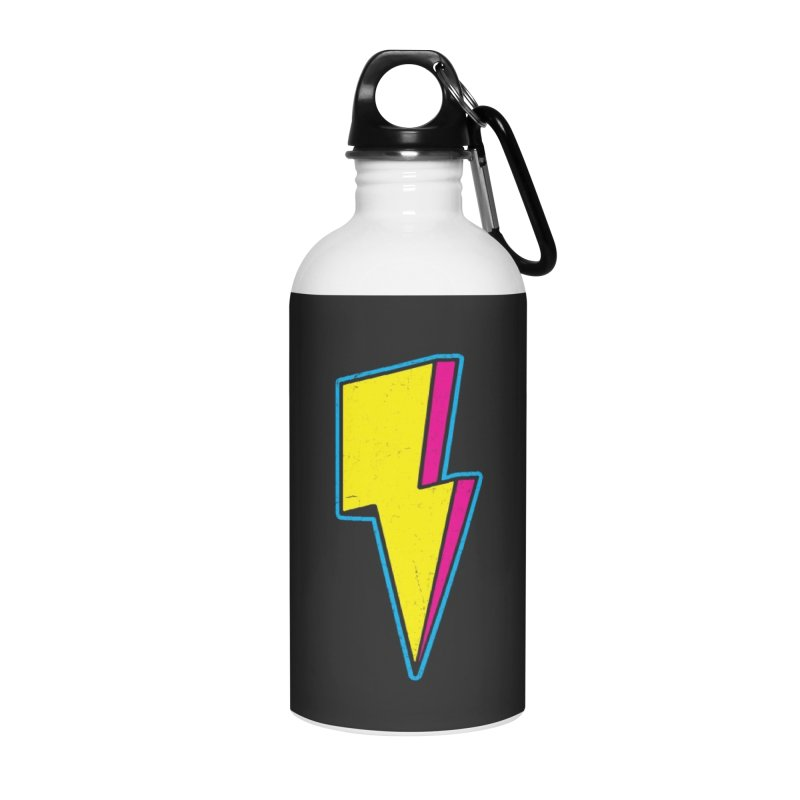 Ride The Lightning Accessories Water Bottle by Wasabi Snake