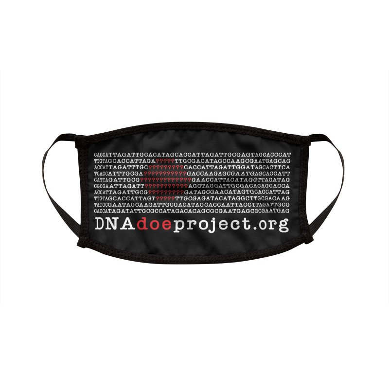 DNA Doe Project Official (Dark variant) Accessories Face Mask by DNA Doe Project Shop