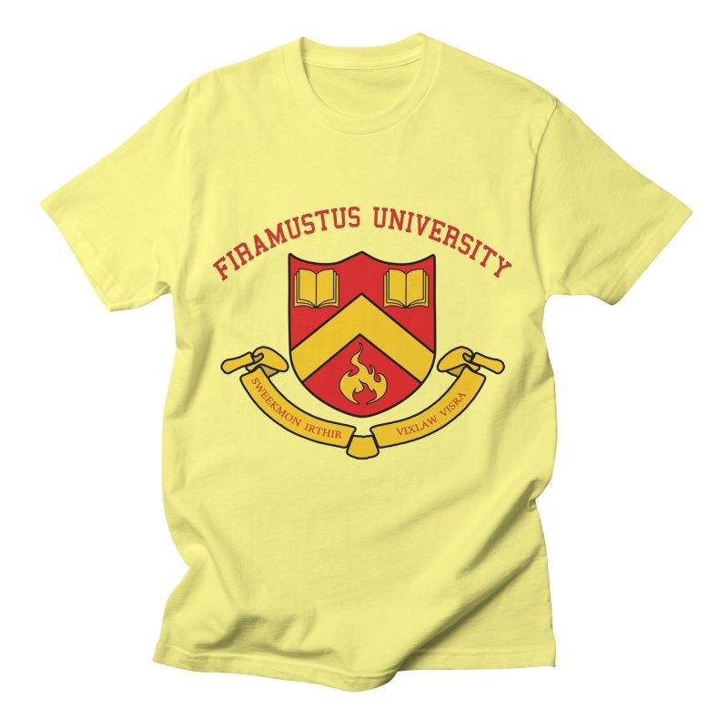 Firamustus University Men's T-Shirt by Dungeons & Doctorates